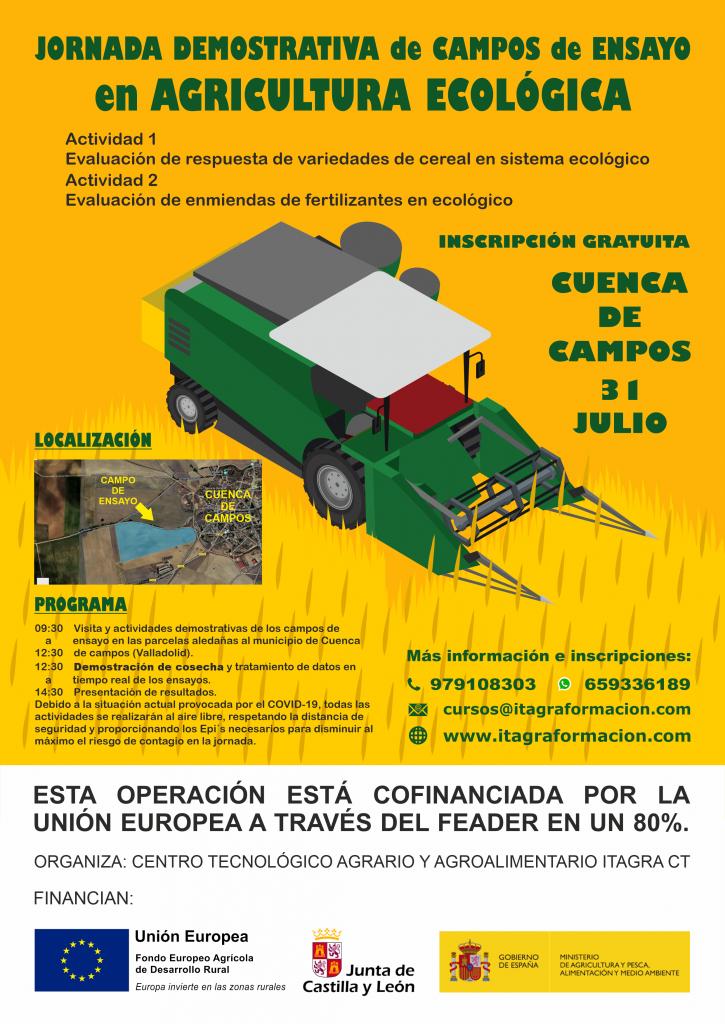 Jornada demostrativa de campos de ensayo en agricultura ecológica
