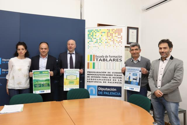 A través de la Escuela de Tablares y en colaboración con la asistencia técnica del Itagra Ct. la Diputación de Palencia ofrece cuatro cursos eminentemente prácticos